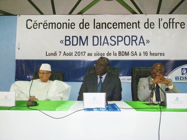Banques : «  BDM diaspora » lancé