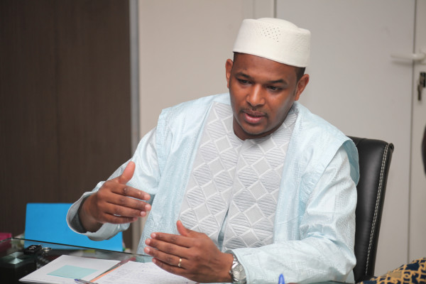 Dr Boubou cissé, Ministre de l'économie et des finances