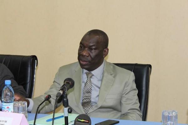 Dr Nango Dembélé, ministre de l'agriculture