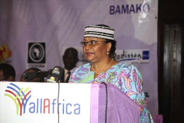 Mme Keita Aminata Maiga, Premiére Dame du Mali
