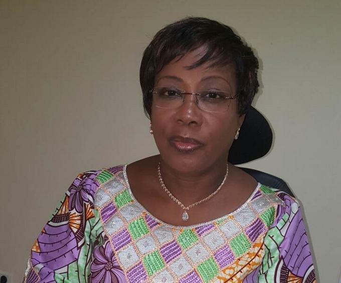 Madame keita Aida M'bo, ministre de l'Environnement, de l'Assainissement et du Développement Durable