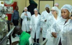 Mandingo Industrie : La ministre danoise de la Coopération  visite l'unité de production