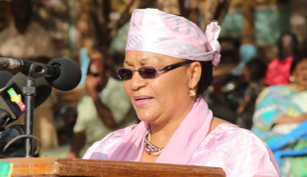 Mme Keita Aminata Maïga , Première Dame du Mali