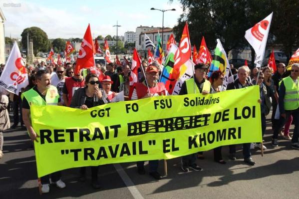 La stratégie de Macron en matière de droit du travail
