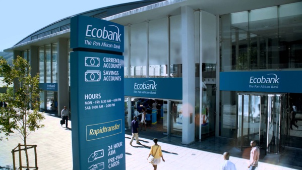 Banques : Ecobank annonce un résultat avant impôt de 227 $ EU à fin septembre 2017