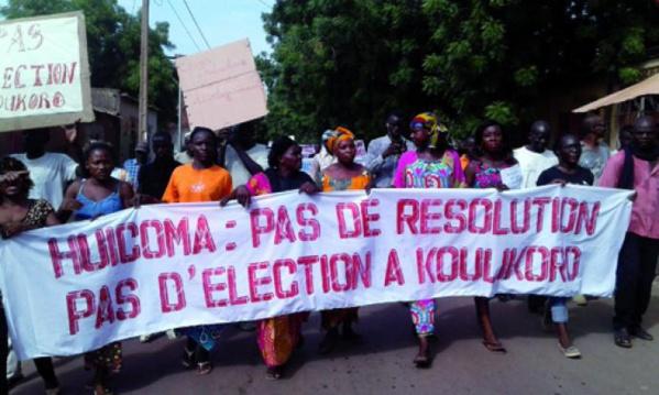 Plan social des travailleurs de l'Huicoma : Le collectif des femmes exige le paiement de leurs droits