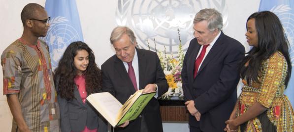 António Guterres: « L'éducation doit être la passion de tous les gouvernements »
