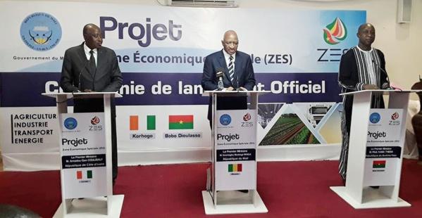 Mali-Côte d'Ivoire-Burkina Faso : 44 milliards de FCFA  d'investissements projetés pour une Zone économique spéciale