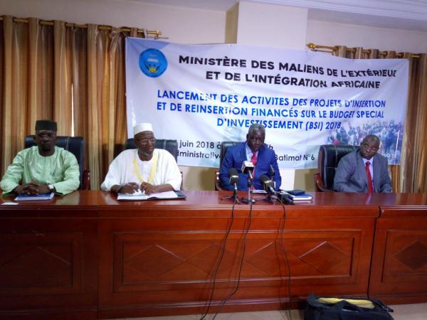 Migrants de retour au Mali : 72 projets de réinsertion financés à 100% par l'Etat