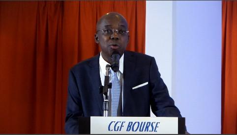 Gabriel Fal, Président du Conseil d'Administration de CGF Bourse