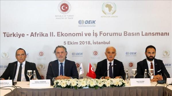 2ème Forum économique et d'affaires Turquie – Afrique : Des acteurs maliens  à Istanbul