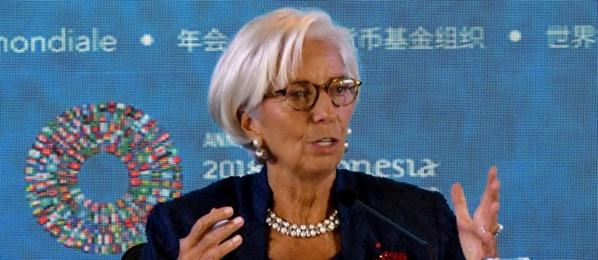 Développement:  Christine Lagarde veut que le commerce soit au service de la croissance
