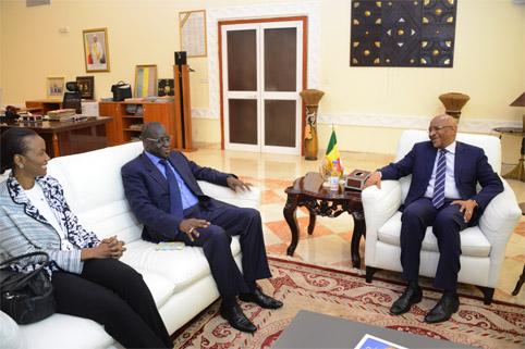 Mali : Le vice-président en charge des ressources humaines de la Banque mondiale échange avec  le Premier ministre sur le renforcement du partenariat