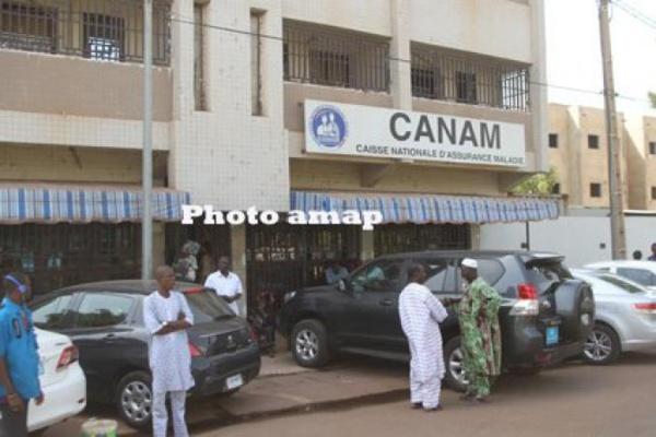 Assurance Maladie : La CANAM a encaissé des cotisations AMO  de  plus de 36 milliards  FCFA sur une prévision de 55 milliards FCFA