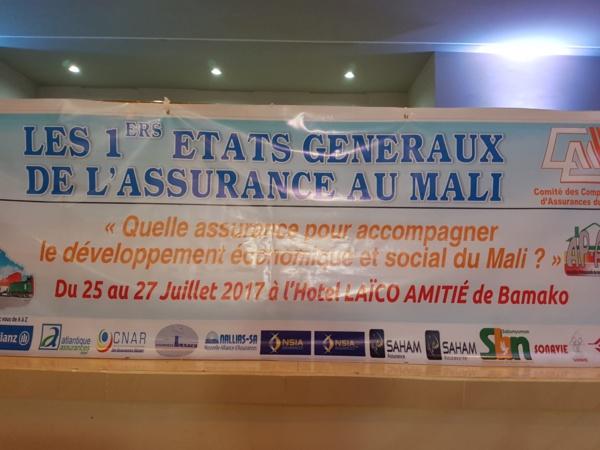 États généraux de l'Assurance au Mali : Présentation d'un plan d'actions 2019-2021 de mise en œuvre des résolutions