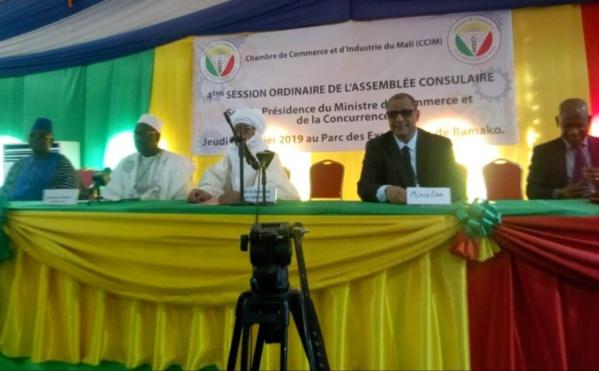 4è session de l'assemblée consulaire de la Chambre de Commerce et d'Industrie du Mali : Évaluation à mi-parcours de la mandature 2015-2020