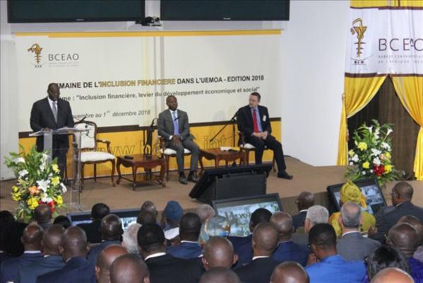 Inclusion financière dans l'Uemoa : Le taux global de pénétration démographique a augmenté de 12 points en 2017