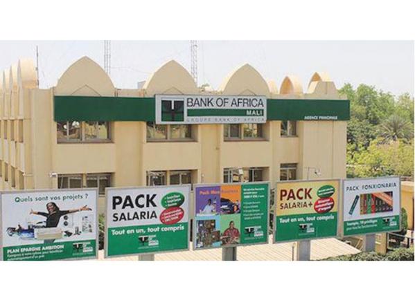 Bank of Africa Mali : Un résultat net de 1,572 milliards au 31 Mars 2019