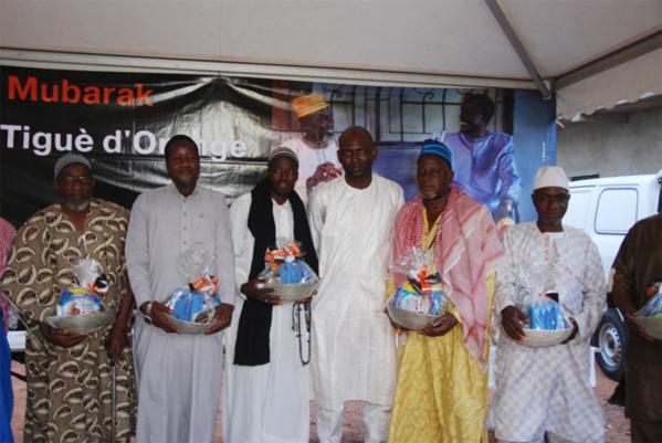 RSE: Orange Mali offre des dons aux fidèles musulmans en ce mois de Ramadan