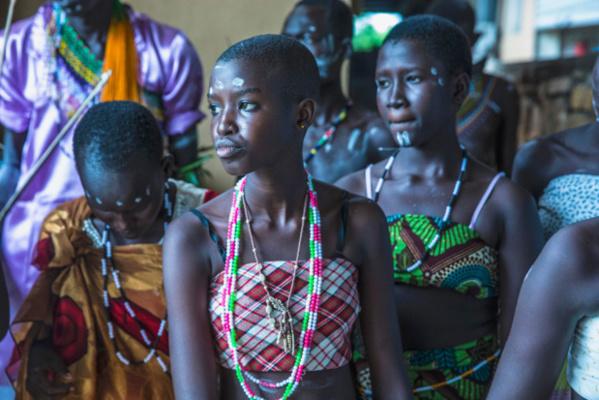 Photo MINUSS/Isaac Billy Des étudiants au Soudan du Sud jouent dans une pièce de théâtre qui porte sur la question de la violence sexuelle en temps de conflit (photo d'archives).