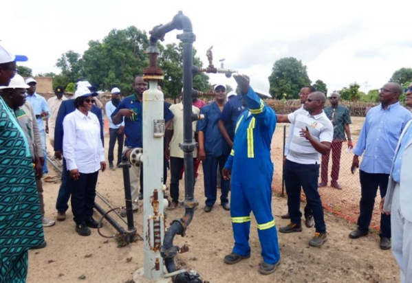 Production de gaz hydrogène : La ministre des Mines et du Pétrole sur le site de PETROMA