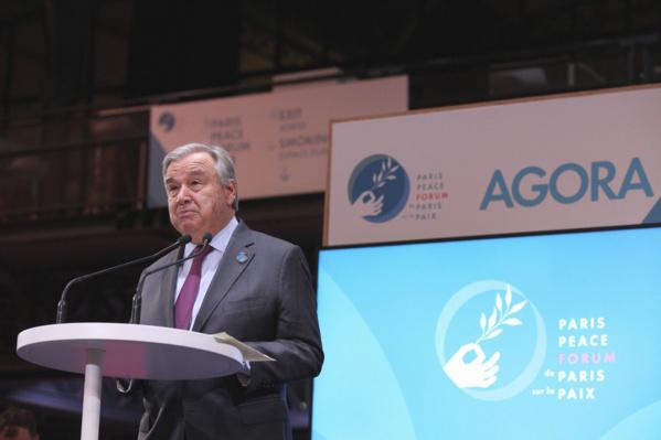 Forum de Paris sur la paix : « Le monde se fissure. Le statu quo n'est pas tenable » - Guterres