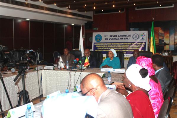 5è Revue Annuelle des Réformes de l'Uemoa : Le Mali réalise un taux de mise en œuvre de 82% cette année