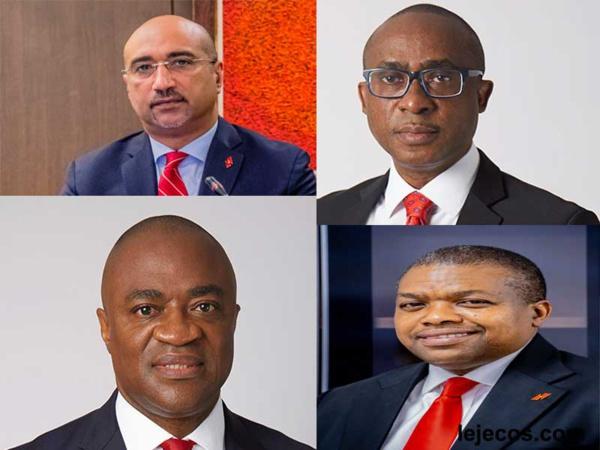 Du haut vers le bas Abdoul-Aziz Dia,Oliver Alawuba,Chukwuma Nweke et Chiugo Ndubisi