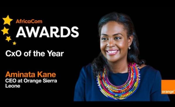 """Afrique: 8ème AfricaCom 2020 AWARDS - Aminata Kane Ndiaye remporte le """"Prix du meilleur DG"""""""