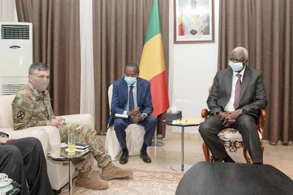 Coopération Mali-Etats-Unis: Le commandant en chef d'Africom reçu par le chef de l'Etat