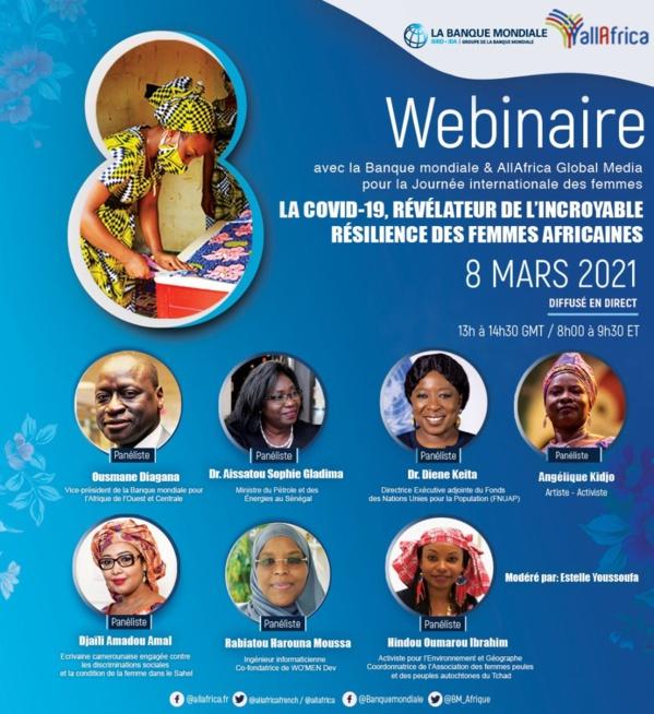 Soutien aux femmes africaines : La Banque mondiale lance une plateforme de dialogue