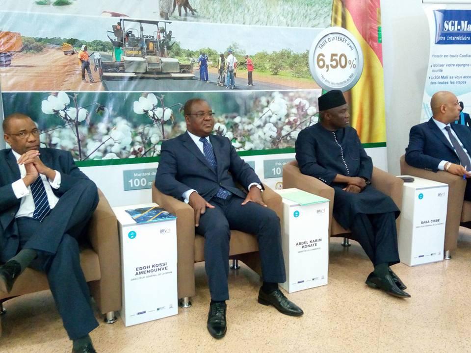 Emprunt Obligataire: 100 milliards FCFA mobilisés pour le Mali
