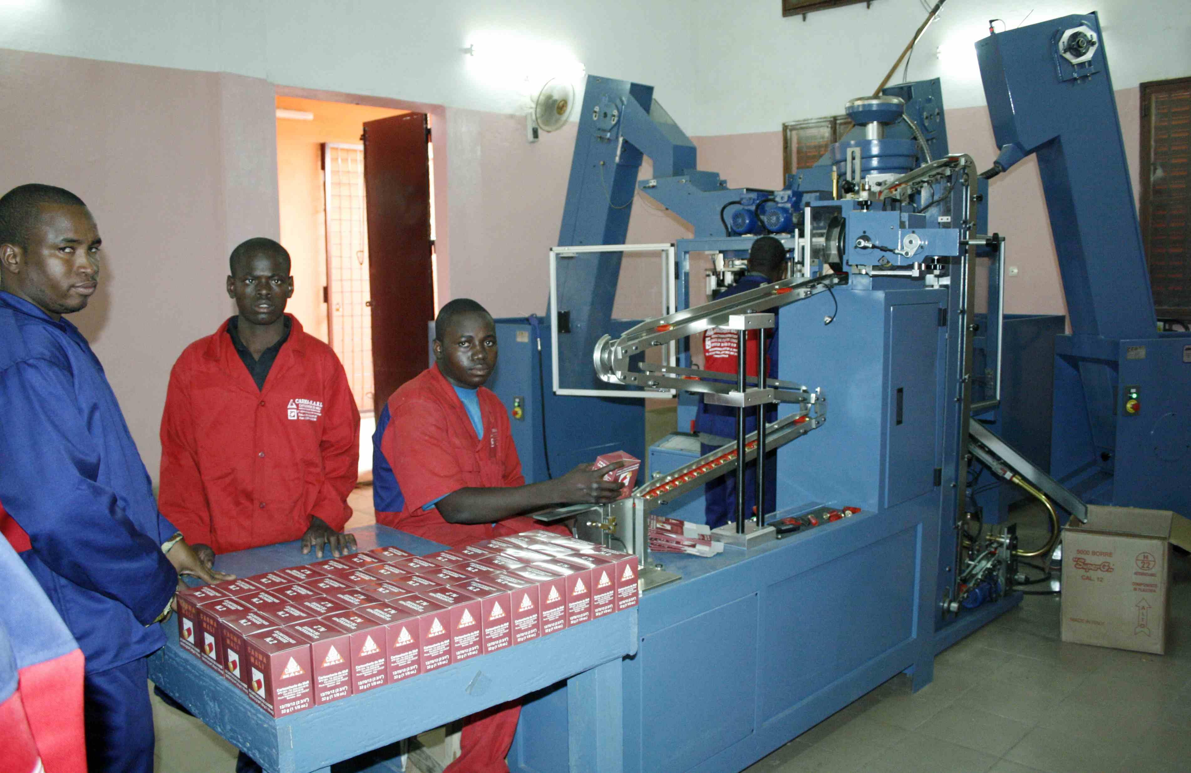 Mali : L'industrie constitue le socle pour une économie solide et résiliente