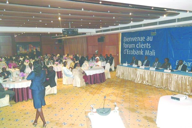 Banques : L' « Application mobile »,  Ecobank Mali présenté aux acteurs des PME