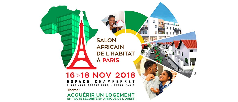 Salon africain de l'habitat à Paris : 500 milliards FCFA pour financer des projets immobiliers