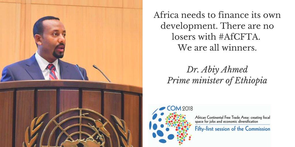 Economie : Le Premier Ministre éthiopien vante les bienfaits de la zone libre-échange