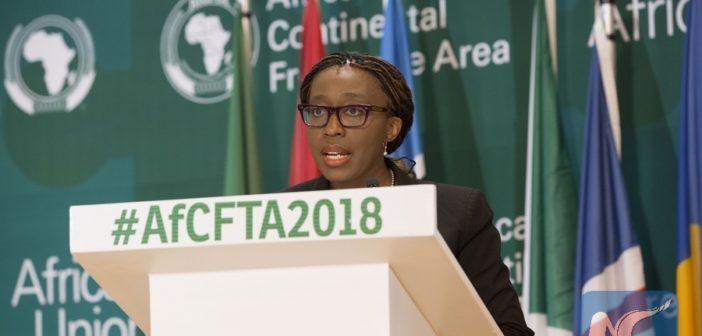 Zone libre échange: Vera Songwe prie le Nigéria de rejoindre la ZLECA