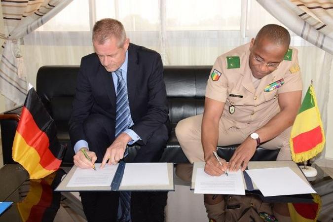 École de maintien de la paix  au Mali: l'Allemagne accorde un nouveau financement de 900 millions FCFA