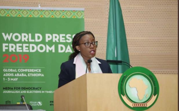Démocratie en Afrique: Vera Songwe note le rôle de la presse