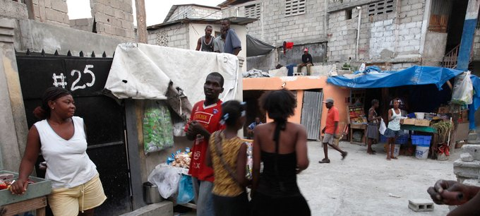 Banque mondiale/Dominic Chavez Le quartier Delmas 32, à Port au Prince, est l'un des plus pauvres d'Haïti.