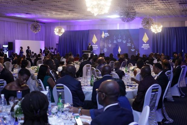Première édition de Brvm Awards : Des leaders du marché financier régional récompensés