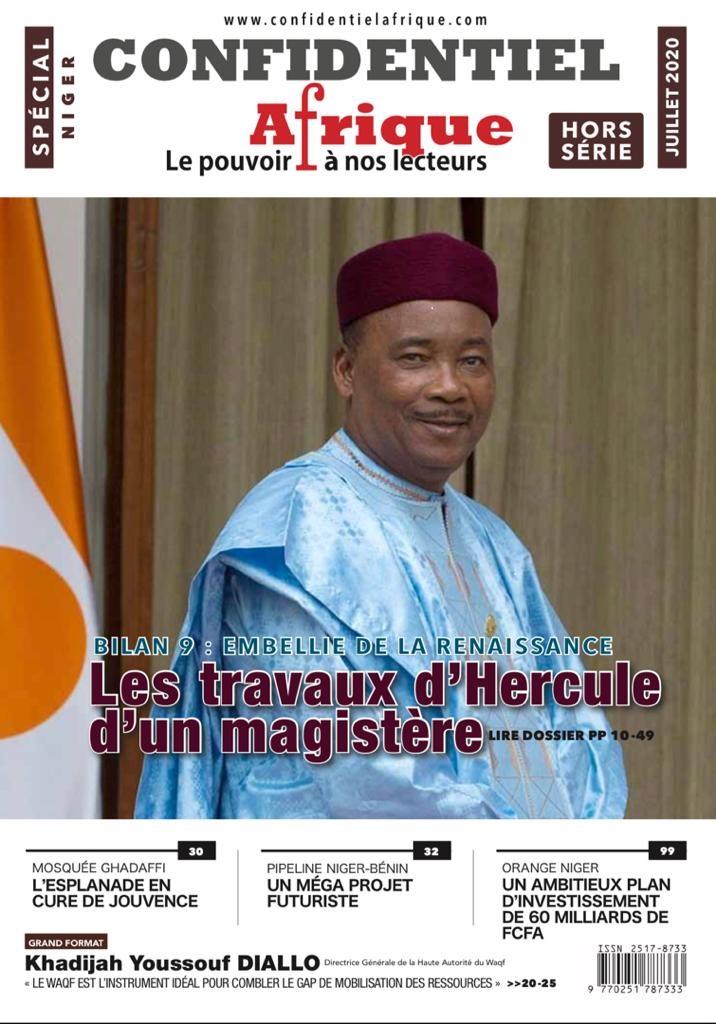Nouvelle publication de Confidentiel Afrique :  Le Niger de Mahamadou Issoufou à l'honneur