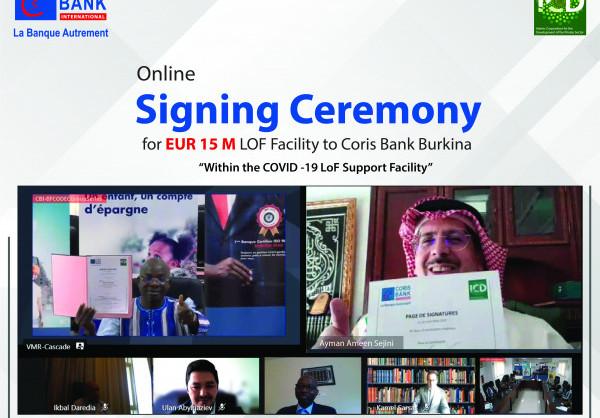 Financement des entreprises du secteur privé :  La Sid octroie 15 millions d'euros à Coris Bank international Burkina Faso