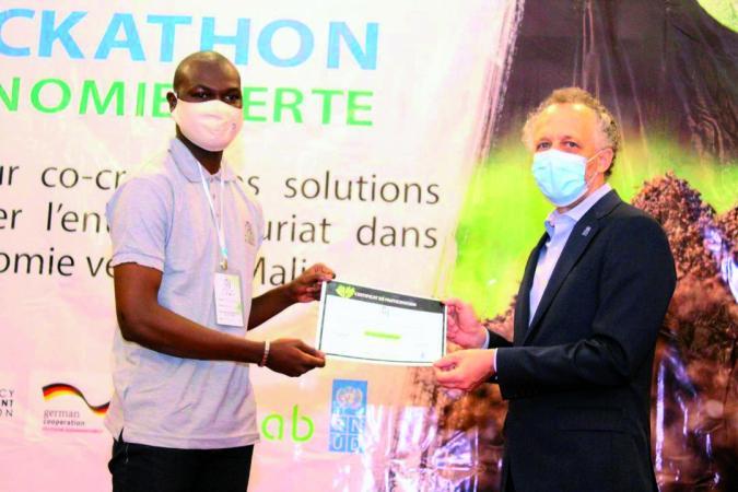 Anwkathon Economie verte : Un véritable espace de libre échange et de partage d'expérience entre les entrepreneurs maliens