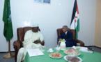 Union africaine: Le Président de la Commission Moussa Faki Mahamat rencontre les autorités de la RASD