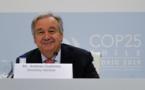 Climat : à la COP25, Guterres souligne que « notre guerre contre la nature doit cesser »