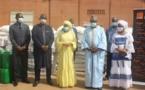 RSE : La Fondation orange offre 35 tonnes de vivres  aux victimes de l'incendie à Faladié-Bamako